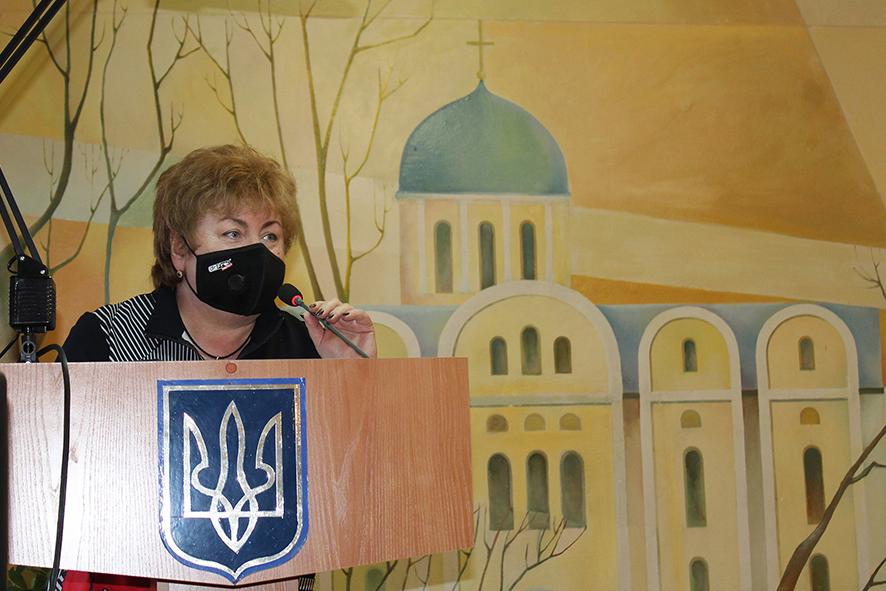 Олена Дмитренко зустрілася з колективом КНП «Чернігівська обласна лікарня» ЧОР