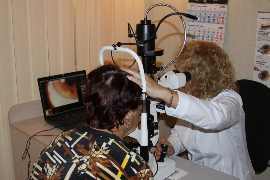 В онлайн-режимі розпочалися консультації хворих на глаукому