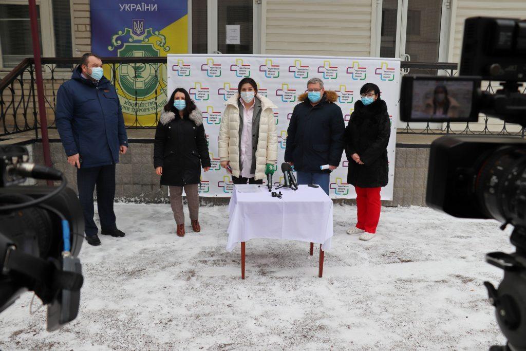 Чернігівська область однією з перших розпочала вакцинацію від COVІD-19 – Анна Коваленко