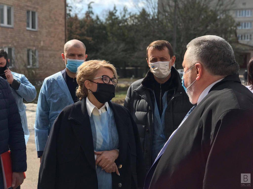 Юлія Тимошенко відвідала Чернігівську обласну лікарню
